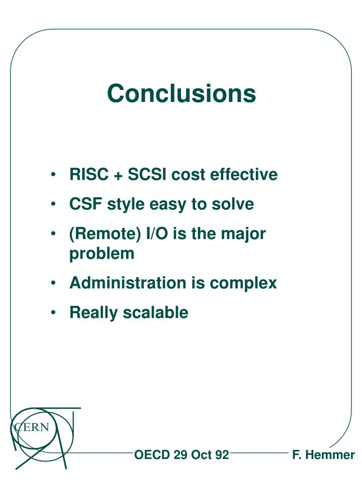 RISC + SCSI cost effective