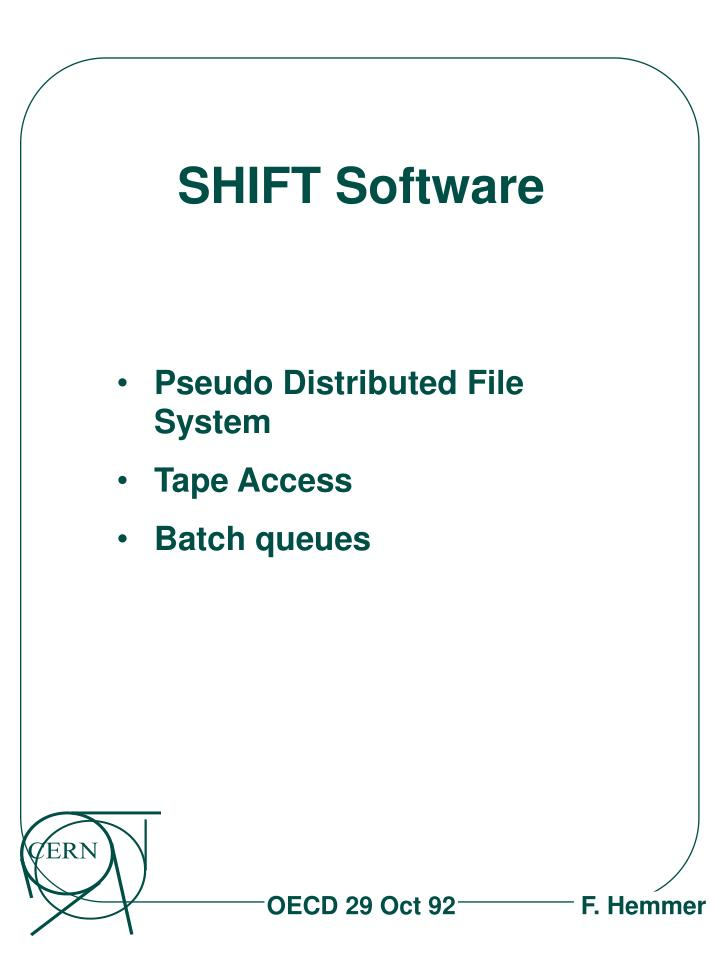Pseudo Distributed File System