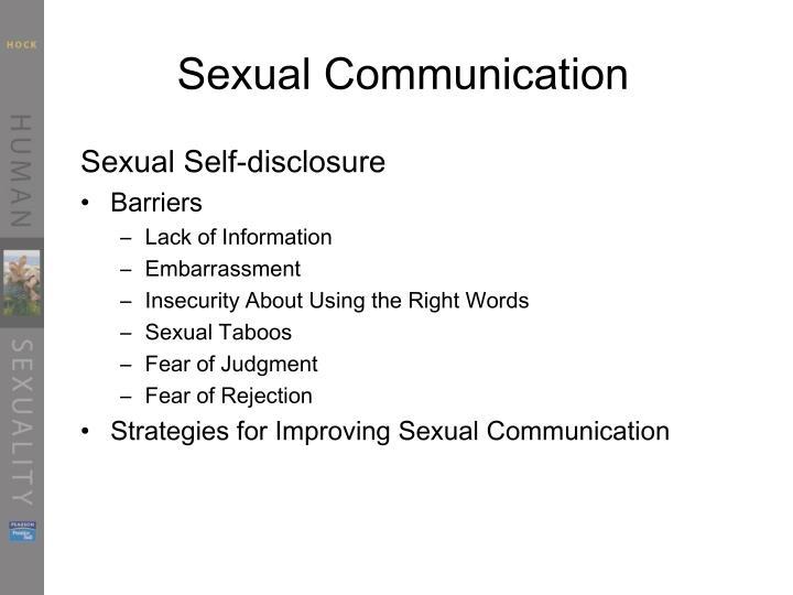 Sexual Communication
