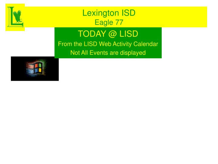 Lexington ISD