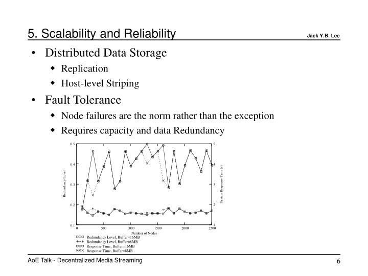 5. Scalability and Reliability