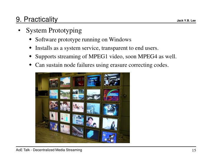 9. Practicality