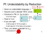 pf undecidability by reduction3