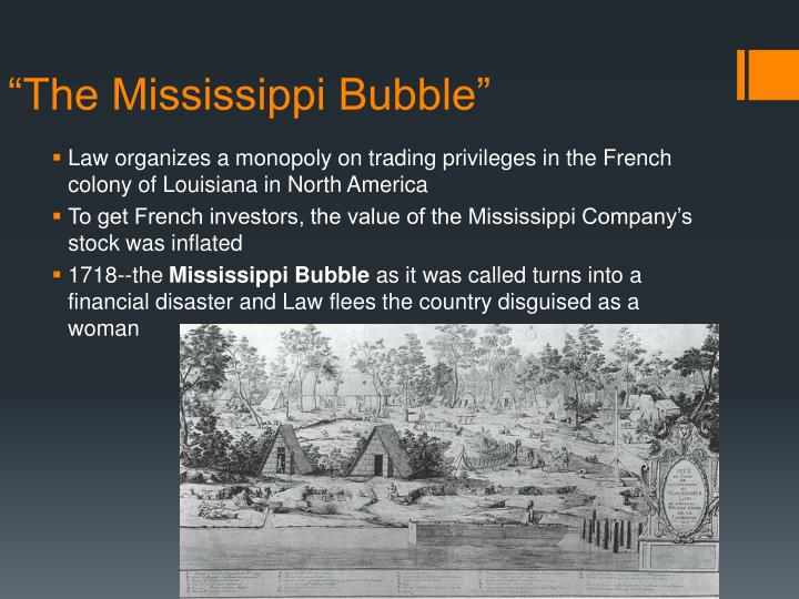 """The Mississippi Bubble"""