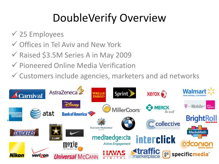 DoubleVerify Overview