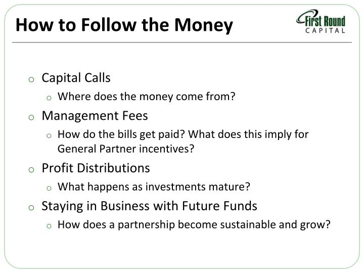 How to Follow the Money