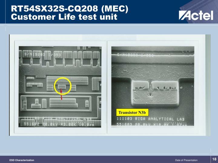 RT54SX32S-CQ208 (MEC)