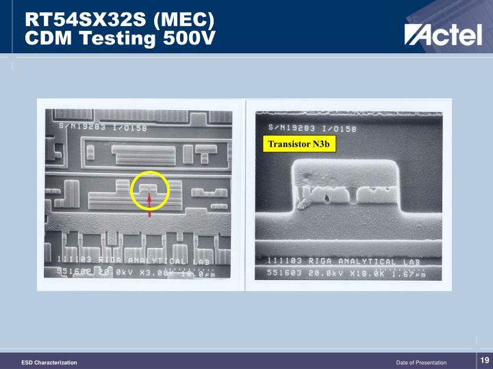 RT54SX32S (MEC)