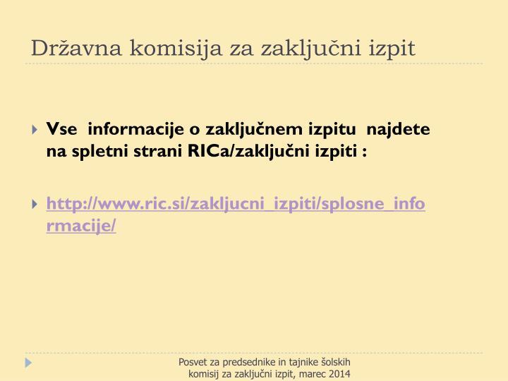 Državna komisija za zaključni izpit