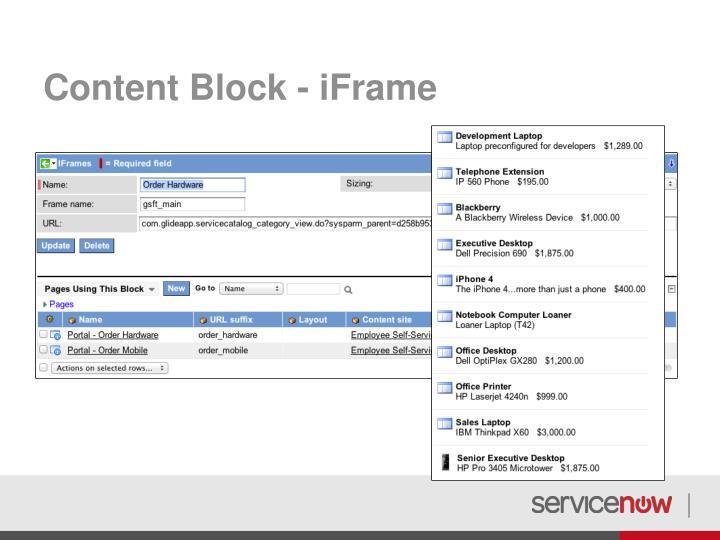 Content Block -