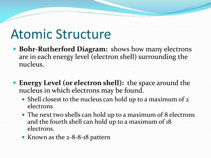 Atomic Structure