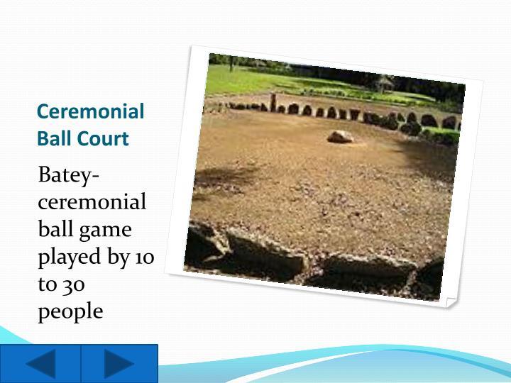 Ceremonial Ball Court