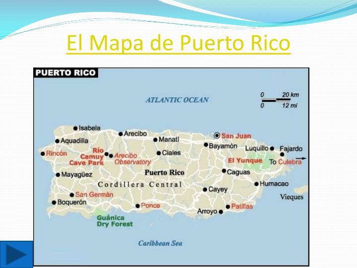 El Mapa de Puerto Rico