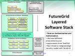 futuregrid layered software stack