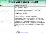 futuregrid people roles ii