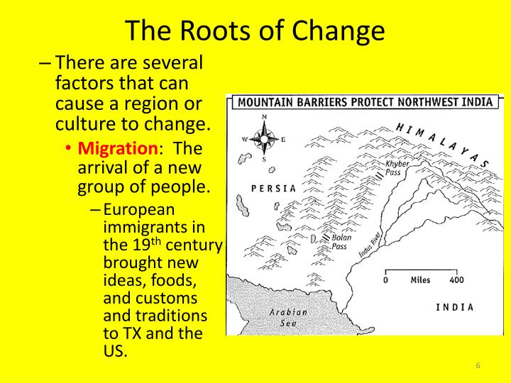 The Roots of Change