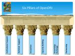 six pillars of opendri