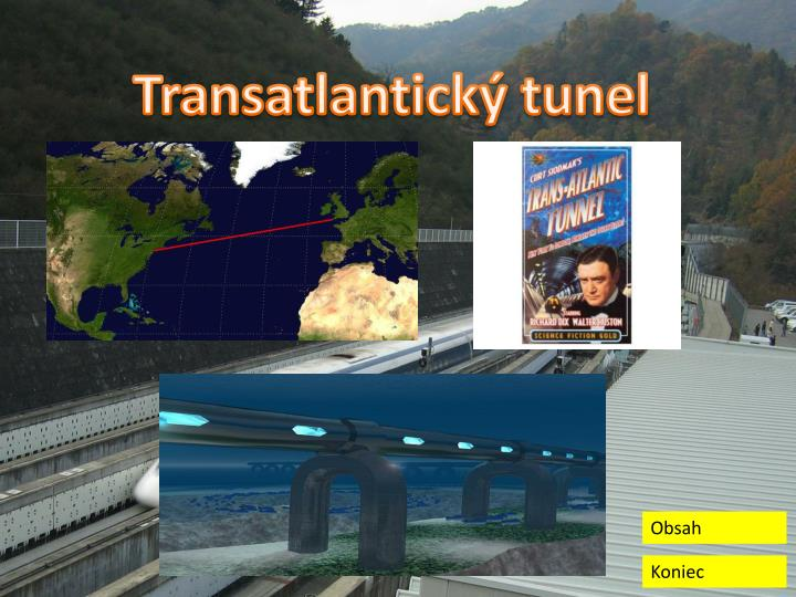 Transatlantický tunel