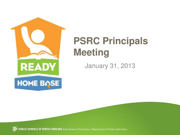 psrc principals meeting