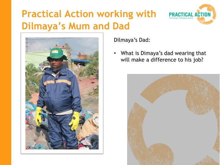 Practical Action working with