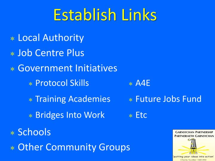 Establish Links