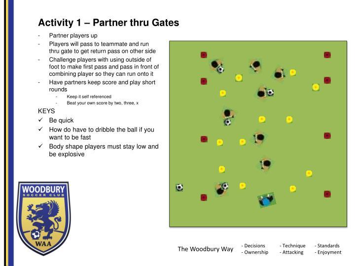 Activity 1 –