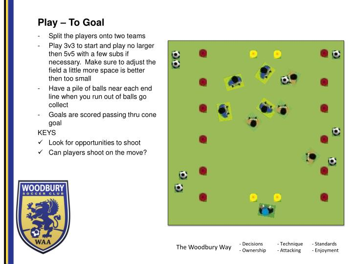Play – To Goal