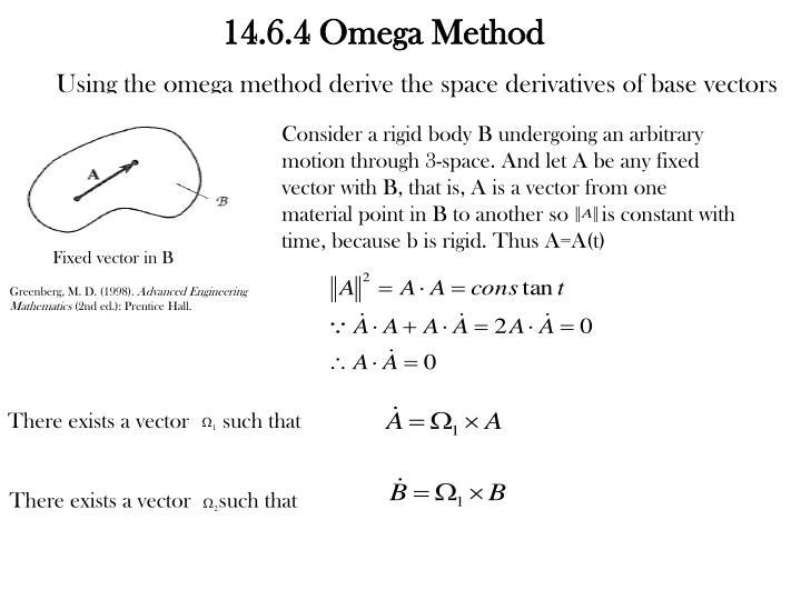 14.6.4 Omega Method