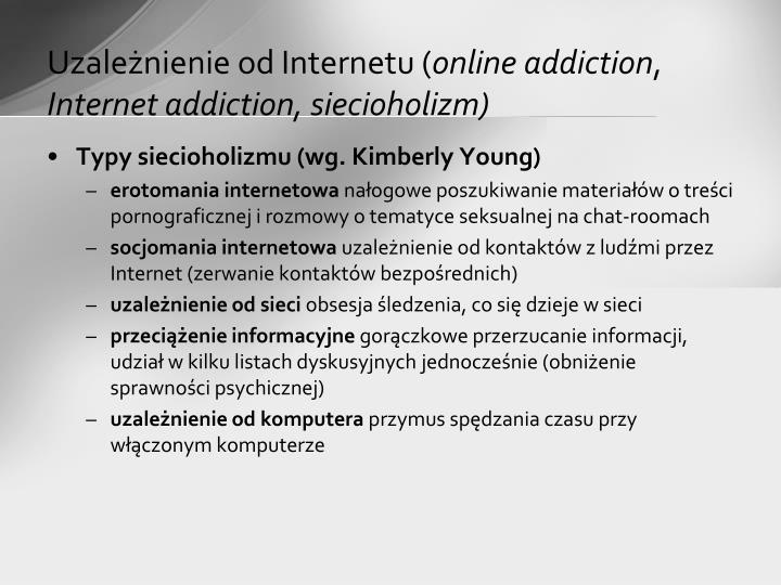 Uzależnienie od Internetu (