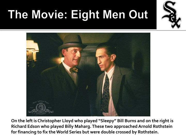 The Movie: Eight Men Out