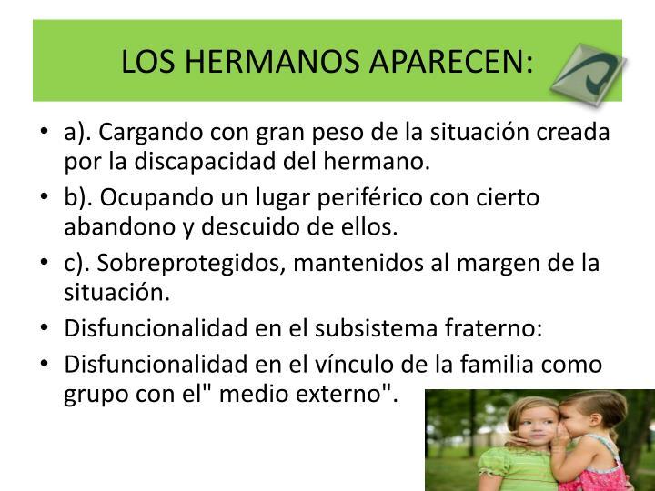 LOS HERMANOS APARECEN: