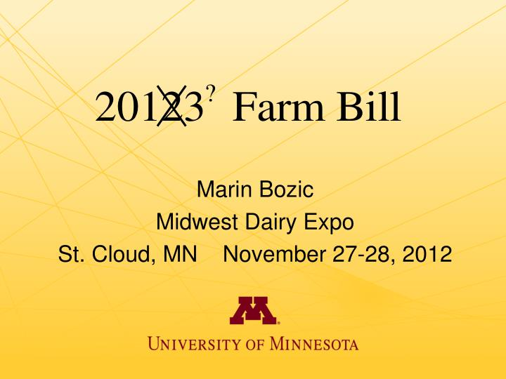 marin bozic midwest dairy expo st cloud mn november 27 28 2012
