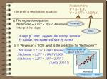 interpreting regression equation2