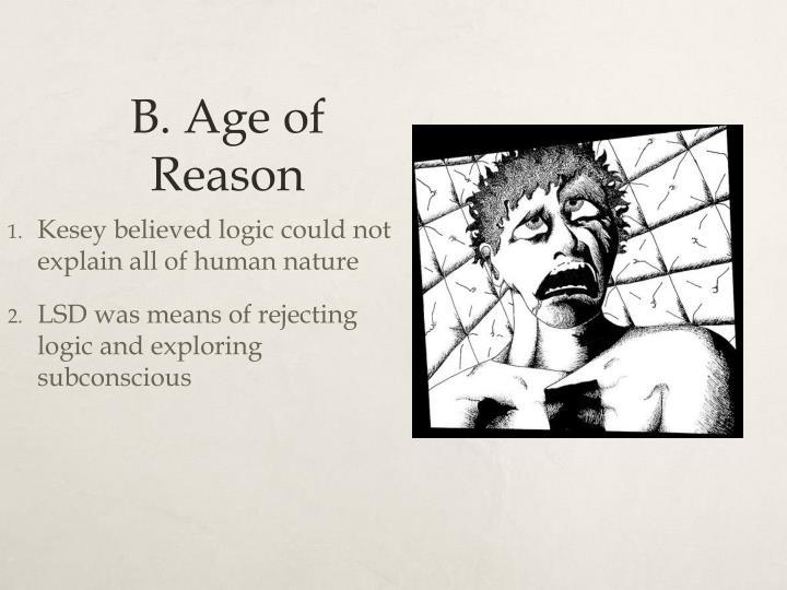 B. Age of Reason