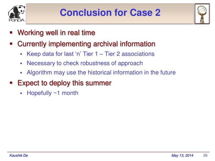 Conclusion for Case 2