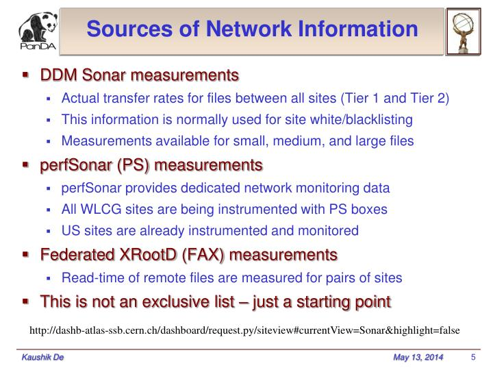 Sources of Network Information