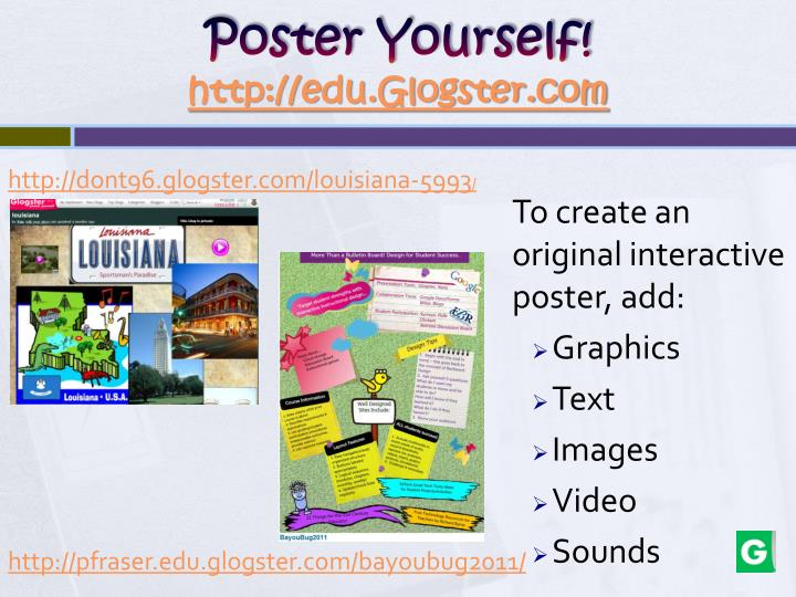 Poster Yourself!
