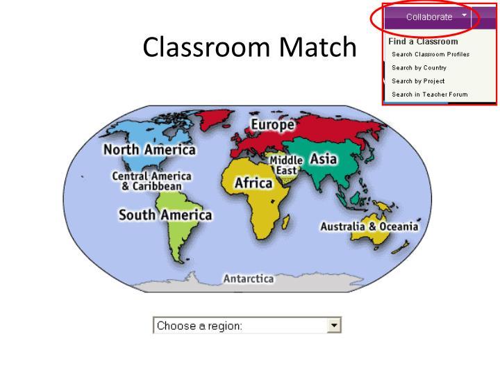 Classroom Match