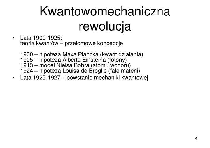 Kwantowomechaniczna