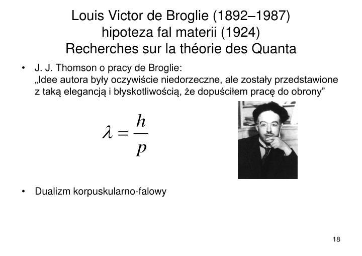 Louis Victor de Broglie (