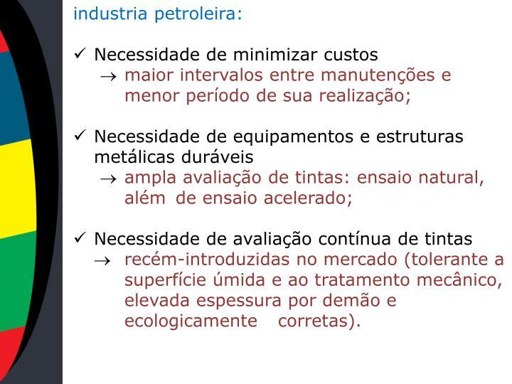industria petroleira: