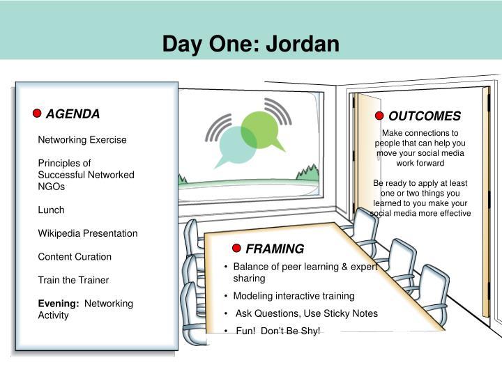 Day One: Jordan