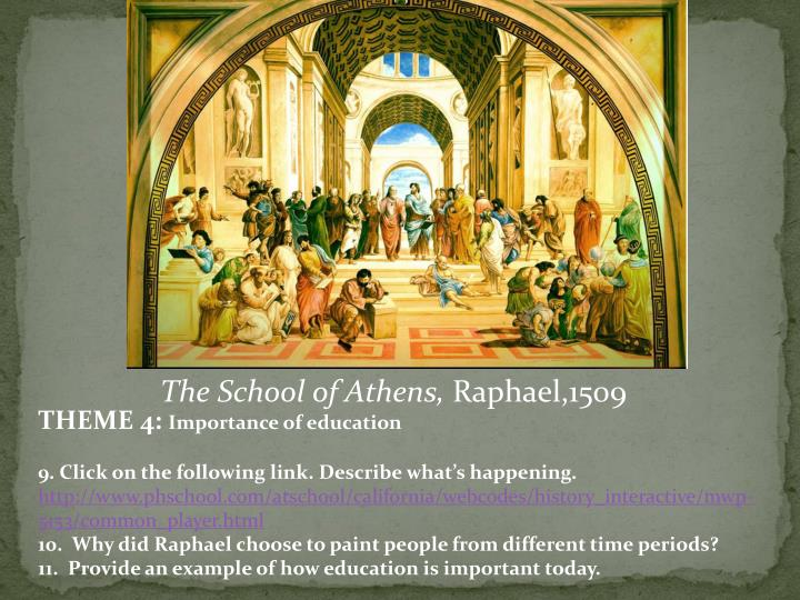The School of Athens,