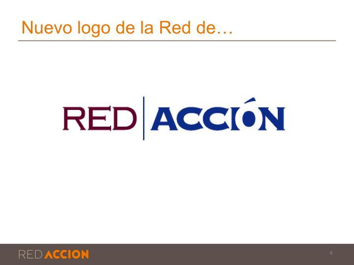 Nuevo logo de la Red de…