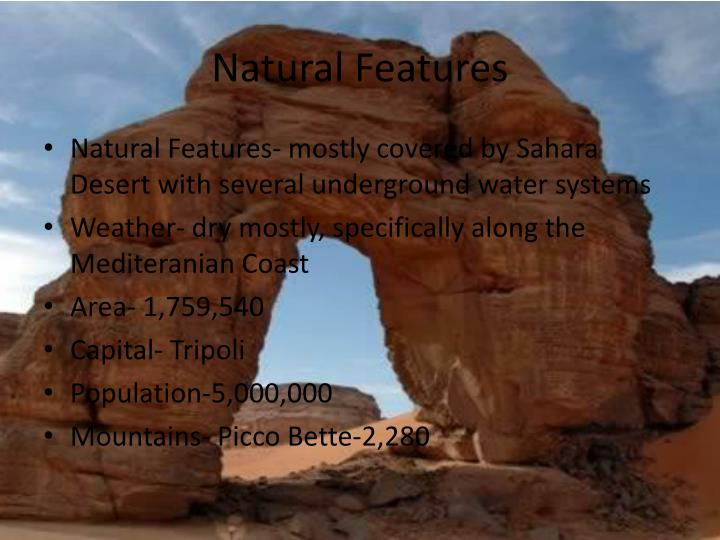 Natural Features