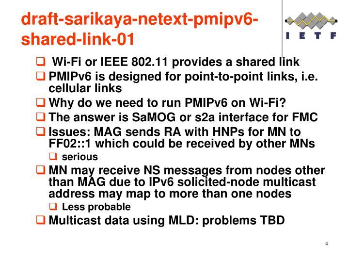 draft-sarikaya-netext-pmipv6-shared-link-01