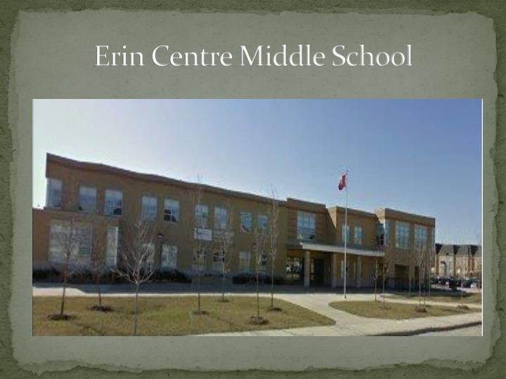 Erin Centre Middle School