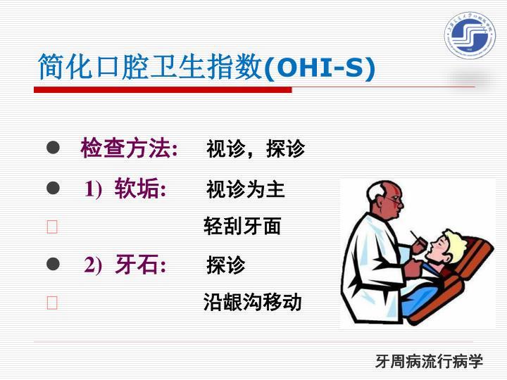 简化口腔卫生指数