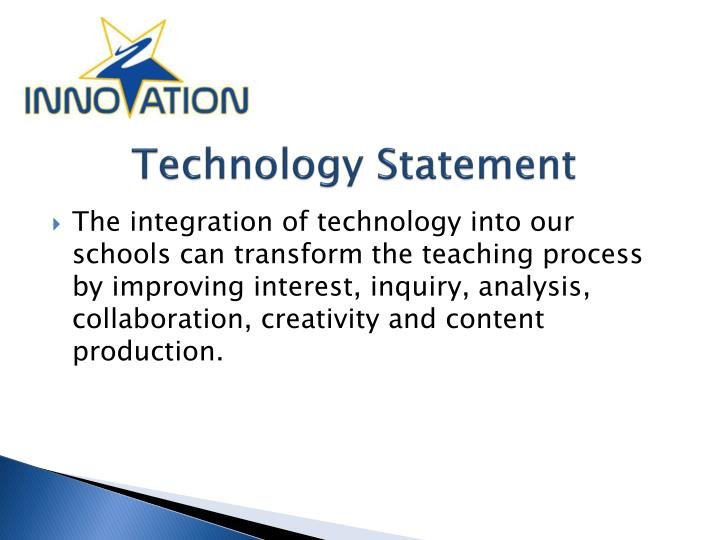 Technology Statement