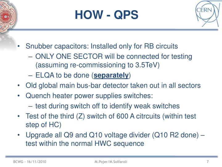 HOW - QPS